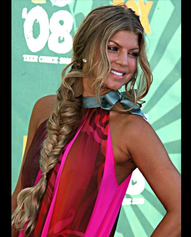 fergie-teen-choice-flechtzopf