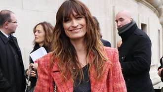 Model und Influencerin Caroline de Maigret bei der Paris Fashion Week 2017