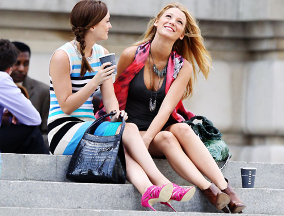 Gossip Girl Trend: Pink Shoes – Think pink!