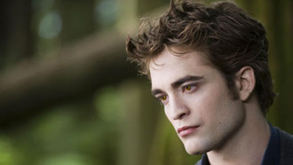 Breaking Dawn: Mit Robert Pattinson, Kristen Stewart und Taylor Lautner am Set.