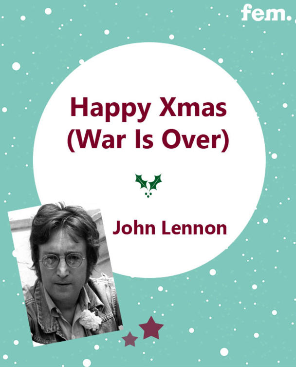 11. Happy Xmas - John Lennon