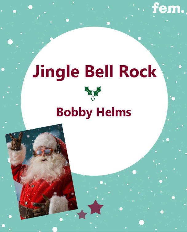 12. Jingle Bell Rock - Bobby Helms