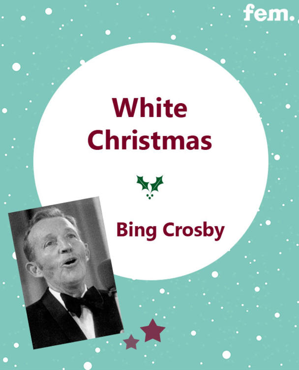 6. White Christmas - Bing Crosby