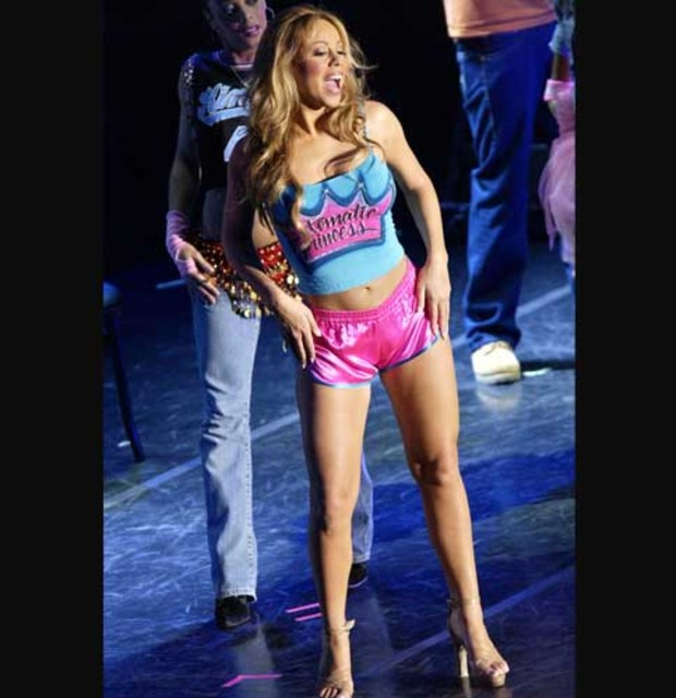 5-mariah-carey-pink-hotpants