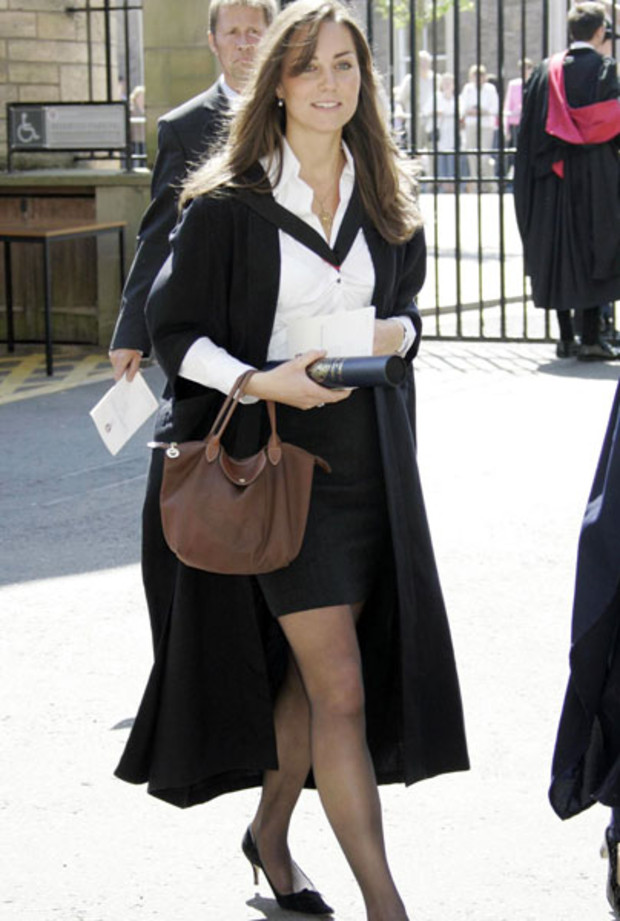 Kate Middleton: Studentin