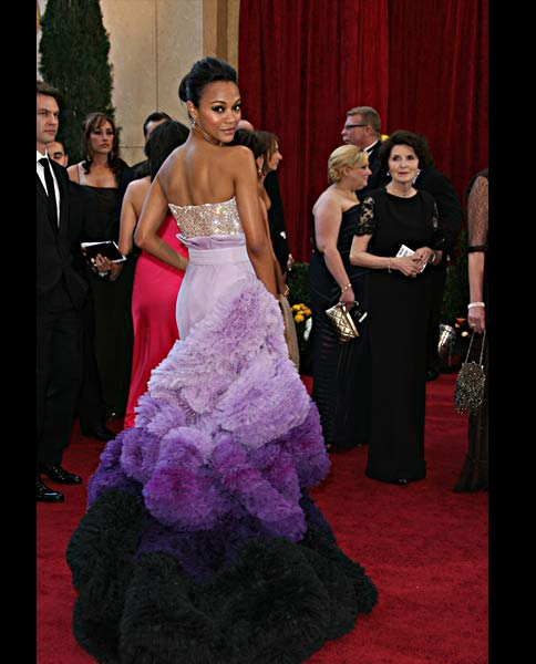 Zoe-Saldana-oscars-dress