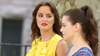 Gossip Girl Staffel 5 Bilder vom Set