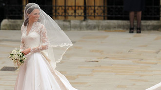 Kate Middleton Brautkleid Grace-Kelly-Style