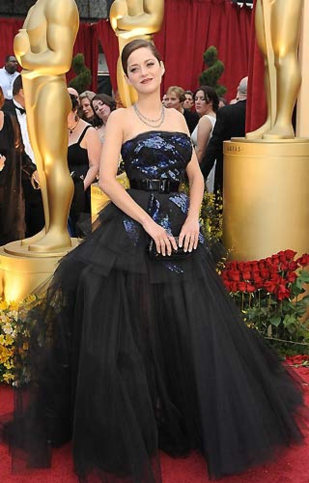 Oscar-2009-Best-Dressed-Marion-Cortillard