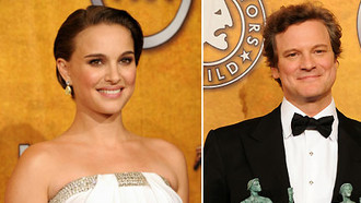SAG 2011: Colin Firth & Natalie Portman - Ready for Oscar