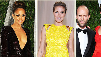 Emma Stone, Rosie Huntington-Whiteley, Jason Statham, Katie Holmes, Tom Cruise und Jennifer Lopez vergnügten sich auf der legendäre Vanity Fair Party.