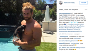 Brock o hurn instagram manbunmonday
