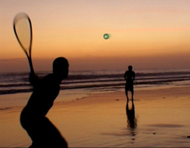 Beach-Speedminton a