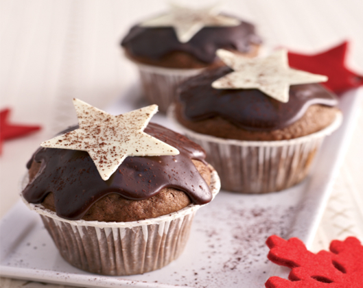 lebkuchen muffins vers en sie sich den advent. Black Bedroom Furniture Sets. Home Design Ideas