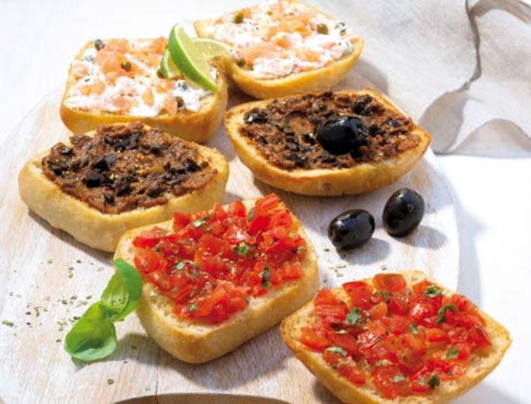 Weight Watchers-Rezept für Bruschetta.