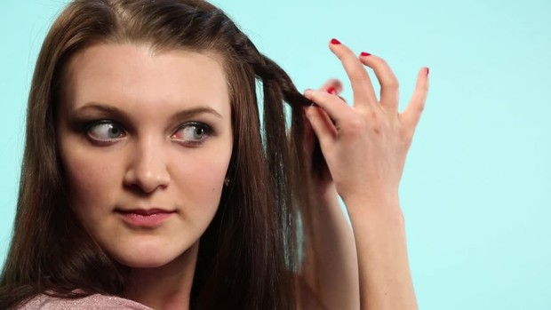 Frisuren-Tutorial für den Alltag: Fake Waterfall Braid