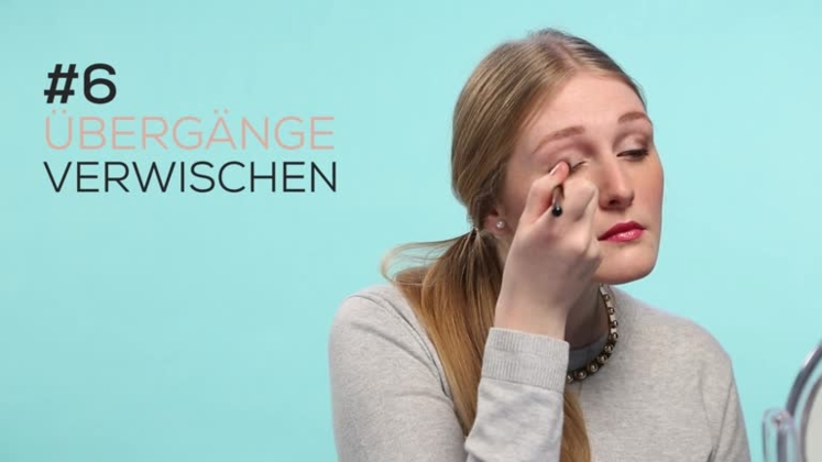 make up tutorial lidschatten richtig auftragen. Black Bedroom Furniture Sets. Home Design Ideas