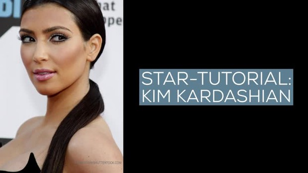 Make-up-Tutorial: Look like Kim Kardashian
