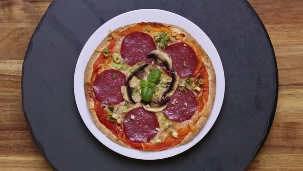 Easy-Food: Die Turbo Tortillapizza