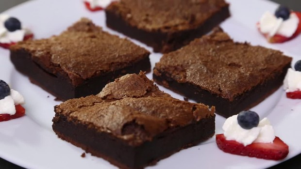 Easy-Food: Zwei-Zutaten Nutella Brownies